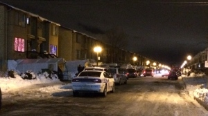CTV Montreal was on the scene Thursday for the 27th murder of 2014 as a man was found shot dead on 63rd in RDP. (CTV Montreal)