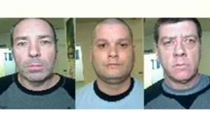 Serge Pomerleau, 49, Yves Denis, 35, and Denis Lefebvre, 53, are the three escaped inmates from the Orsainsville prison in Quebec City. (Surete du Quebec)