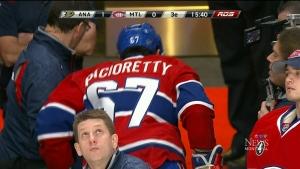 CTV Montreal: Pacioretty avoids serious injury