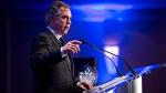 Alberta Premier Jim Prentice speaks in Edmonton on Tuesday, Dec 9, 2014. (The Canadian Press / Jason Franson)