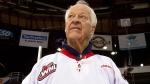 Gordie Howe in Vancouver on Feb. 2, 2013. (AP Photo / The Canadian Press, Darryl Dyck, File)