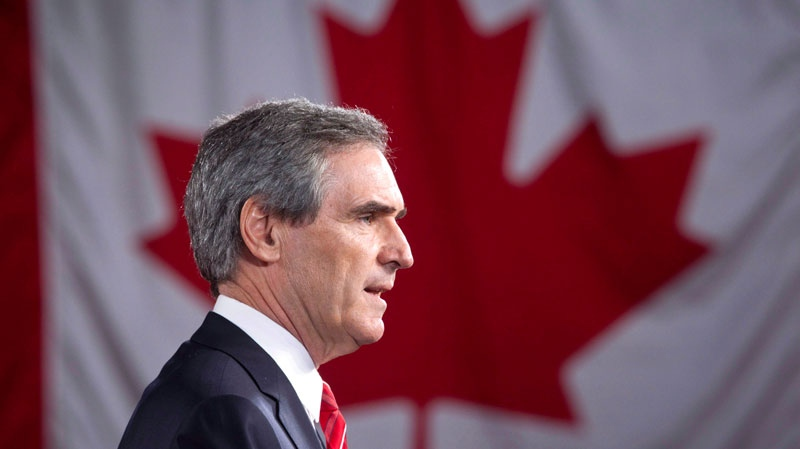 Ex-Liberal leader and academic Michael Ignatieff made blunt comments about the state of Canadian unity in an interview with the British Broadcasting Corporation. Ignatieff is shown addressing supporters Monday, May 2, 2011 in Toronto. (Frank Gunn / THE CANADIAN PRESS)