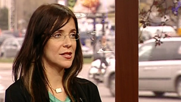 Adria Vasil, columnist for NOW magazine, speaks about her new book Ecoholic Body (May 1, 2012)
