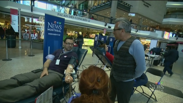 CTV Montreal:  CTV helps with blood drive