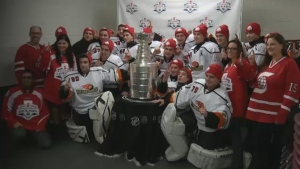The players thought they were turning up for a regular game - but got a winning dose of inspiration from the legacy of Lord Stanley instead.