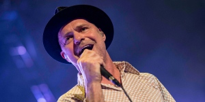 "The Tragically Hip's ""Fully & Completely"" Vancouver tour stop was a nostalgic Canadian show at Rogers Arena, February 6, 2015. (Anil Sharma/CTV)"