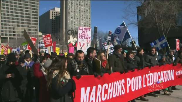 CTV Montreal: Quebec not cutting enough?