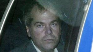 John Hinckley Jr. arrives at U.S. District Court in Washington on Nov. 18, 2003. (AP / Evan Vucci)
