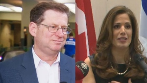Robert Libman and Pascale Dery are vying for the Conservative nomination.