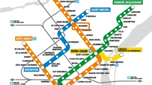 Beaubien metro station will be closed on May 4 and reopen Aug. 31, 2015