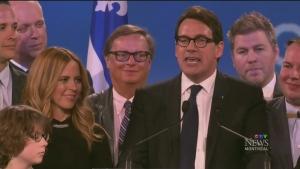 CTV Montreal: Peladeau won't change subject