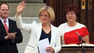 New Democrat Rachel Notley becomes Alberta's premi