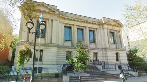 The province is searching for a new use for the long-abandoned Saint Sulpice library, on the west side of St. Denis, in the swinging heart of its tourist zone.