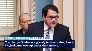 CTV Montreal: Hydro-Quebec called 'shylock'