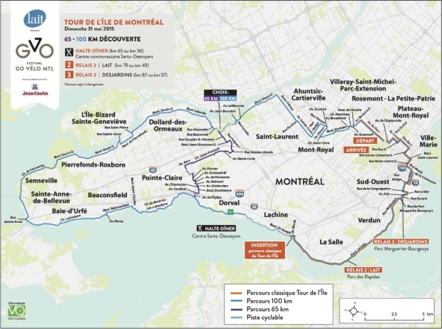 Tour de lIle means detours galore for Montreal drivers CTV