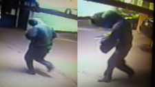 Images of the parking lot attacker