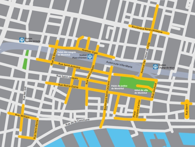 Montreal Wi-FI map