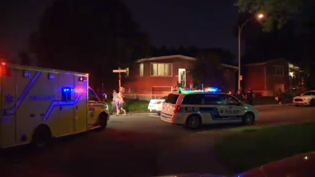 Police were called to an Anjou home Sunday where they found the bodies of man and a 10-month-old boy, killed in an apparent murder-suicide.