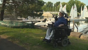 "Sailing has ""made a very big different... I've been able to practice a sport for the first time,"" said Quebec Association for Adapted Sailing Founder Rene Dallaire."