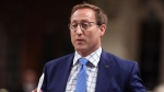 Justice Minister Peter MacKay stands in the House of Commons, on Wednesday, June 17, 2015. THE CANADIAN PRESS/Fred Chartrand