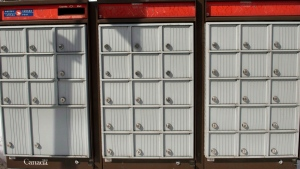 Hundreds of community mailboxes in Ottawa have been frozen shut for days. (THE CANADIAN PRESS / Ryan Remiorz)