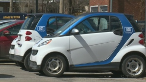 Montreal wants to put more electric cars on the road, but an executive at Car2Go says it's not being included in the process.