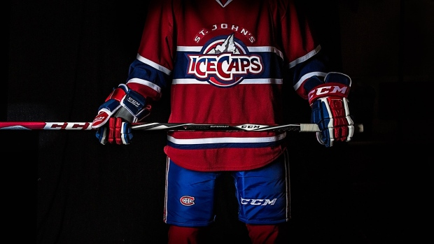 The St. John's IceCaps, the Montreal Canadiens' new farm team, has unveiled its uniform for the 2015-2016 season.