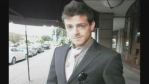 Giordano Castronovo, 23, was thrown overboard in the collision and hasn't been seen since.
