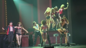 Burlesque dancers at Casino de Montreal