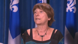 Quebec Solidaire MNA Francoise David introduced the bill.
