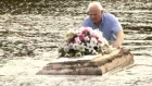 'Somebody's family out there': Caskets pulled from
