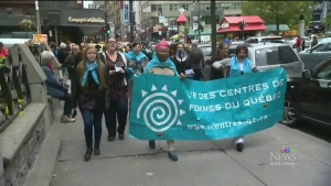 CTV Montreal: March for women's centres