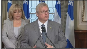 Health Minister Gaetan Barrette said security and staffing will be vastly improved for homes in which seniors needing the greatest level of care reside.
