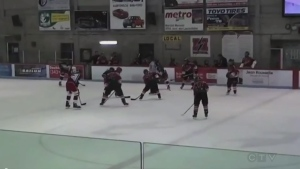 A video posted on Facebook that shows teenage player slashing another on the ice has prompted Hockey Quebec to enforce a ban on posting video to social media.