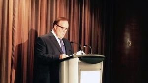 Marcel Aubut steps down from his law firm in the wake of a sexual harassment scandal (Vanessa Lee/CTV News)
