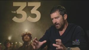 CTV Montreal: Banderas, Binoche in 'The 33'