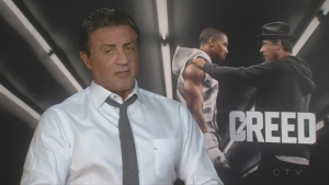 Sylvester Stallone discusses his latest movie Creed