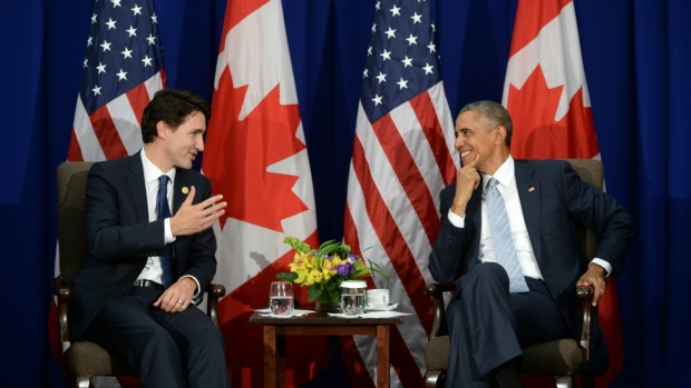 Trudeau, Obama hold bilateral meeting