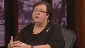 Louise Riendeau of the Quebec Association of Women's Shelters discusses how to fight domestic violence.