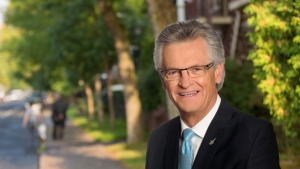 Montreal North borough mayor Gilles Deguire, seen here in a campaign photo