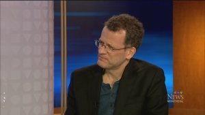 CTV Montreal: Author Yann Martel: High Mountains