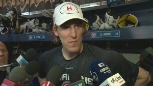Canadiens winger Dale Weise on Feb. 5, 2016