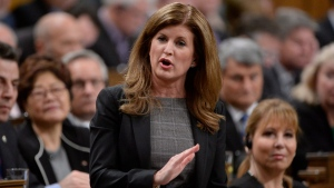 Interim Opposition Leader Rona Ambrose asks a question during Question Period in the House of Commons on Parliament Hill in Ottawa, on Thursday, Feb.4, 2016. (THE CANADIAN PRESS / Adrian Wyld)
