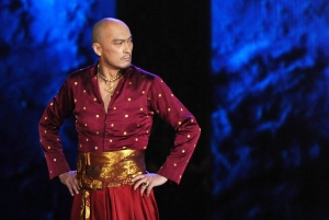 In this June 7, 2015 file photo, Ken Watanabe performs a number from 'The King and I' at the 69th annual Tony Awards in New York. (Photo by Charles Sykes/Invision/AP, File)