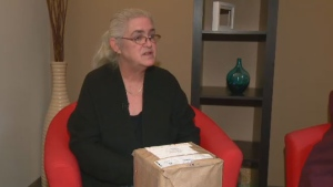 Canada Post failed to tell Shirley Tricker that the U.K. Royal Mail does not handle human ashes.