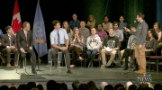 CTV Ottawa: Trudeau, Ban drop in to school