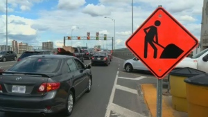 The access ramp that connects Highway 15 north to the Ville-Marie Expressway is closing down in about six weeks.