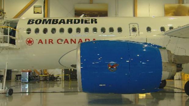 Bombardier hails turnaround as revenue dips