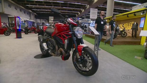 Salon moto de montreal gets a kickstart at palais des - Salon de moto montreal ...