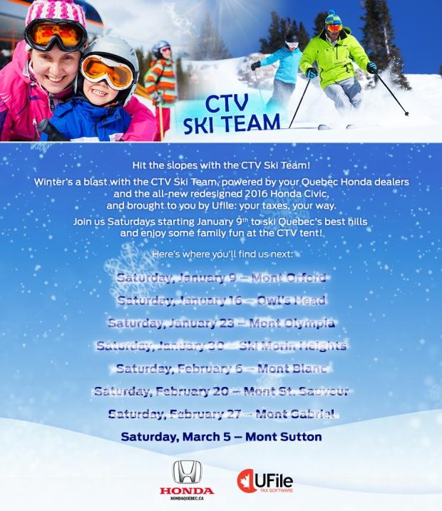 Ski team March 1